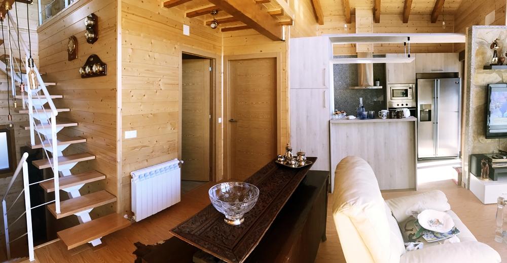 Espacio seguridad y contacto con la naturaleza las - Casas de madera para vivir ...