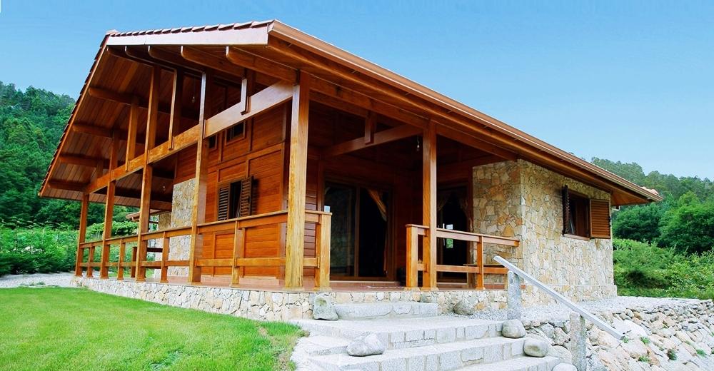 Circe materia - Vivir en una casa de madera ...