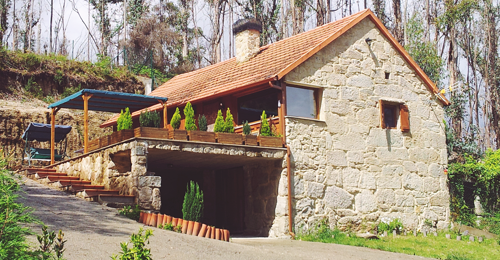 Por qu construir una casa de piedra en galicia - Casa de madera galicia ...
