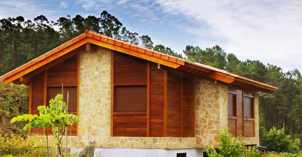 Casas prefabricadas galicia casas de madera galicia - Casas prefabricadas de piedra ...