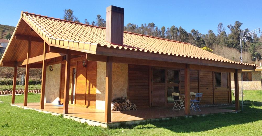 Casas prefabricadas galicia casas de madera galicia - Casas piedra y madera ...